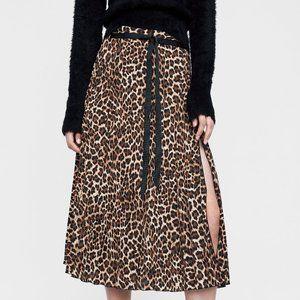 Zara Cheetah-Print Midi Skirt!!!